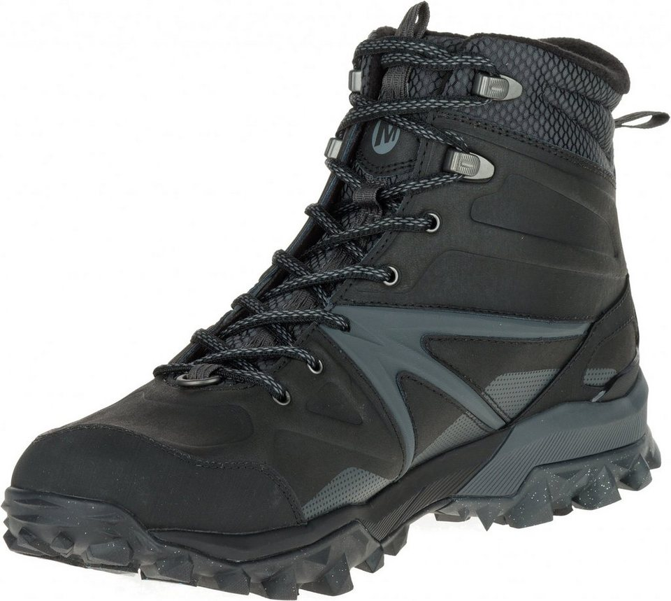 Merrell Kletterschuh »Capra Glacial Ice+ Mid Waterproof Shoes Men« in schwarz