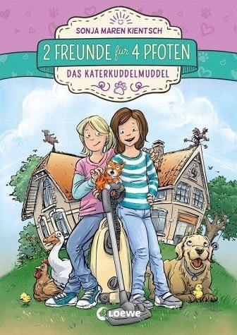 Gebundenes Buch »Das Katerkuddelmuddel / 2 Freunde für 4 Pfoten...«