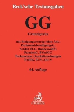 Broschiertes Buch »Grundgesetz für die Bundesrepublik Deutschland«