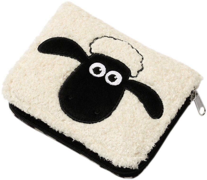 NICI Plüsch Geldbeutel, »Shaun das Schaf mit Muster«