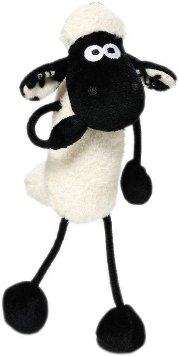 NICI Kuscheltier mit Schlaufe, »Shaun das Schaf« in weiß-schwarz
