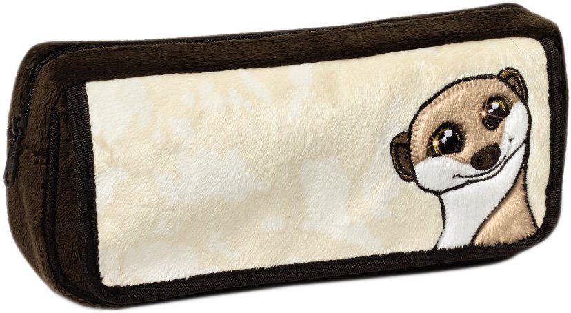 NICI Plüschmäppchen mit Motiv, »Erdmännchen«