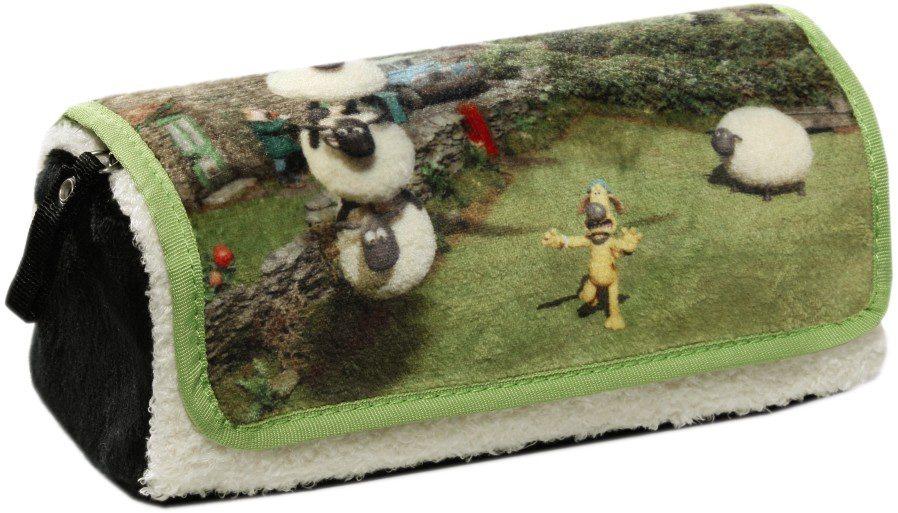 NICI Schlampermäppchen, »Shaun das Schaf« in grün