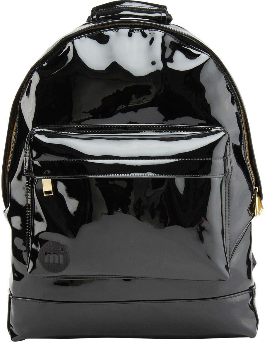 mi pac. Rucksack mit Laptopfach, »Backpack, Patent Black«