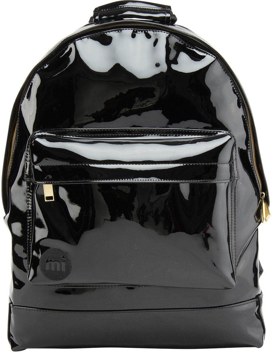 mi pac. Rucksack mit Laptopfach, »Backpack, Patent Black«