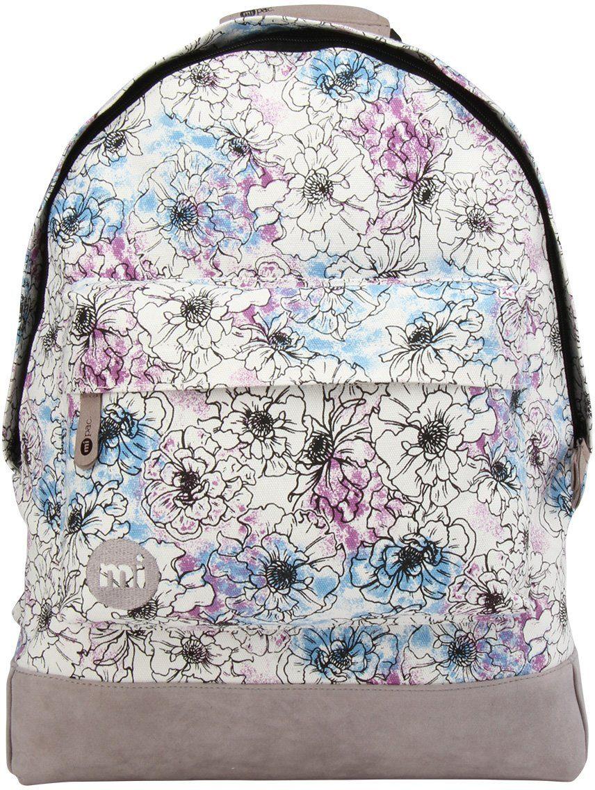 mi pac. Rucksack mit Laptopfach, »Backpack, Unfinished Floral«