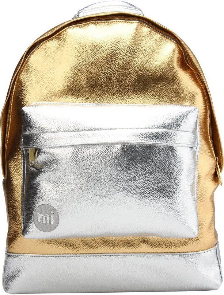 mi pac. Rucksack mit Laptopfach, »Backpack, 24K« in goldfarben