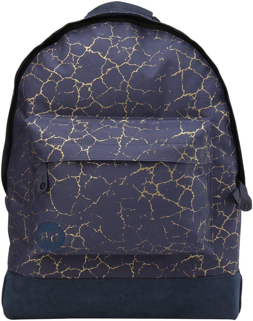 mi pac. Rucksack mit Laptopfach, »Backpack, Cracked Navy Gold«