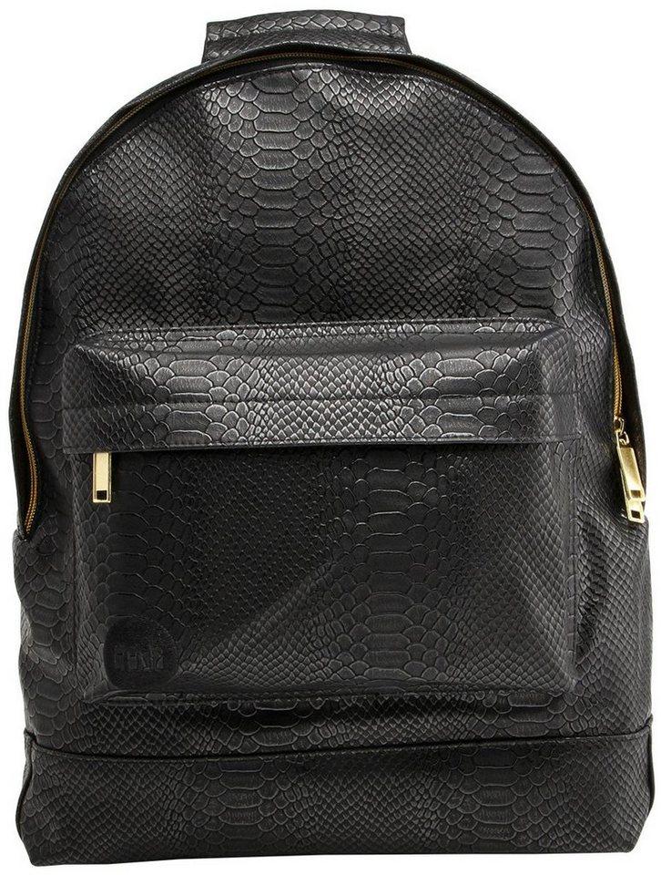 mi pac. Rucksack mit Laptopfach, »Backpack, Python« in schwarz