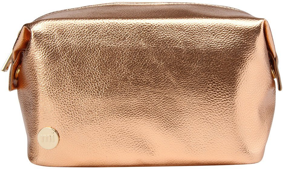 mi pac. Kosmetiktasche, »Make-Up Bag, Metallic Rosé Gold«