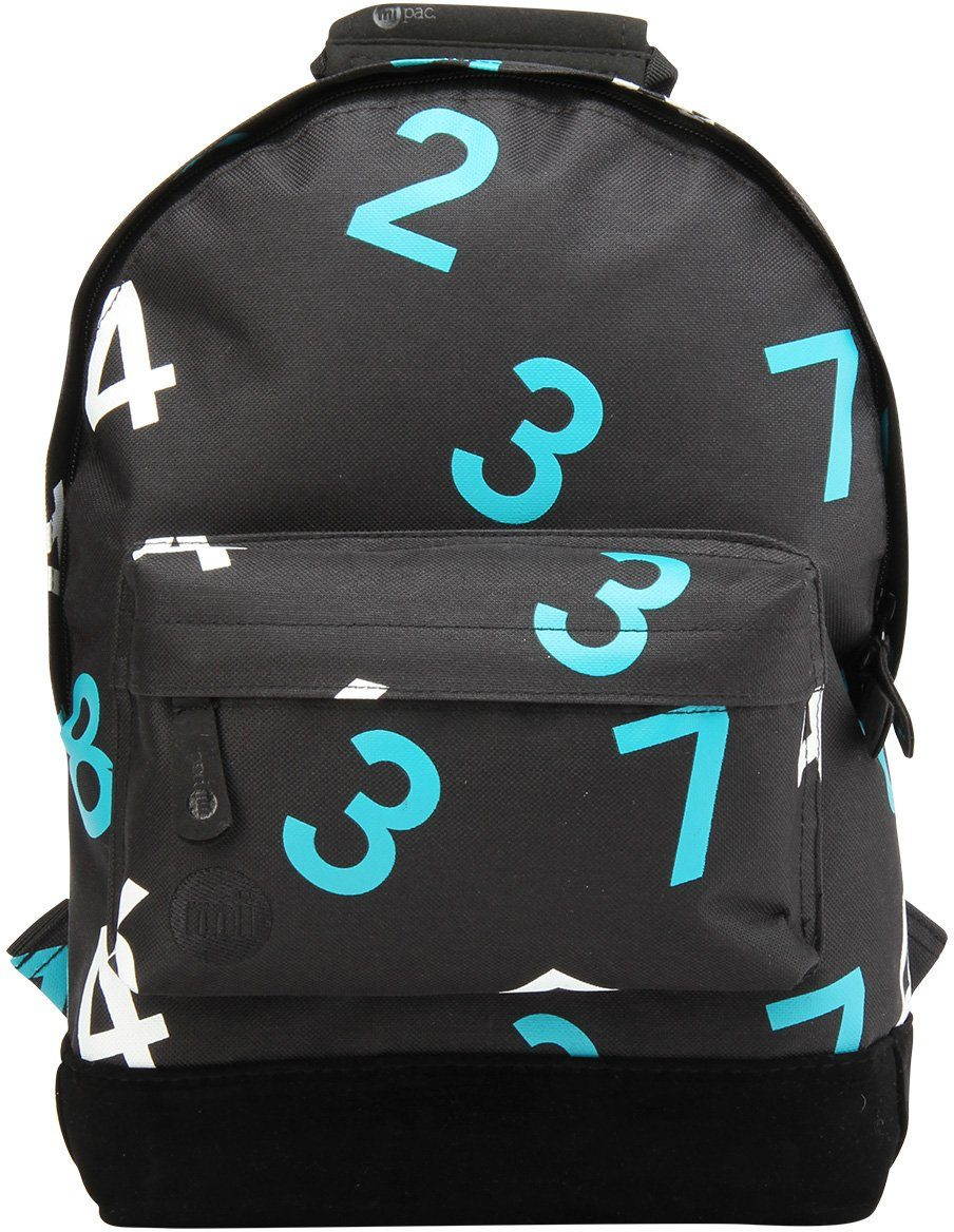 mi pac. Rucksack mit Laptopfach, »Backpack MINI, Numbers«