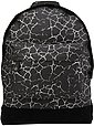 mi pac. Rucksack mit Laptopfach, »Backpack, Cracked Black Silver«, Bild 1