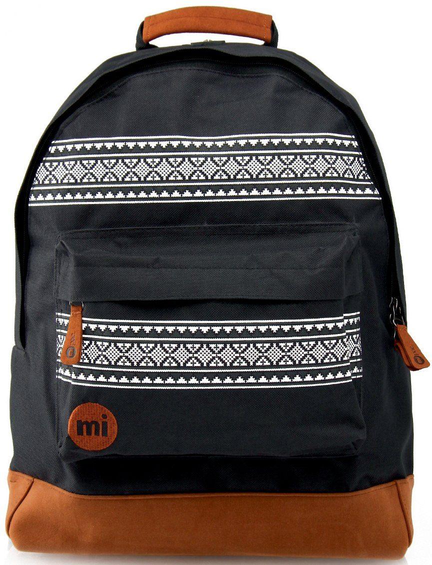 mi pac. Rucksack mit Laptopfach, »Backpack, Nordic Black«
