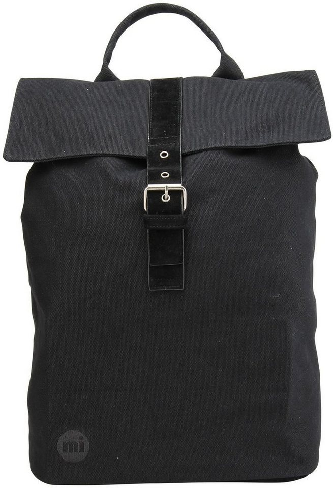 mi pac. Rucksack, »Daypack, Canvas Black« in Black