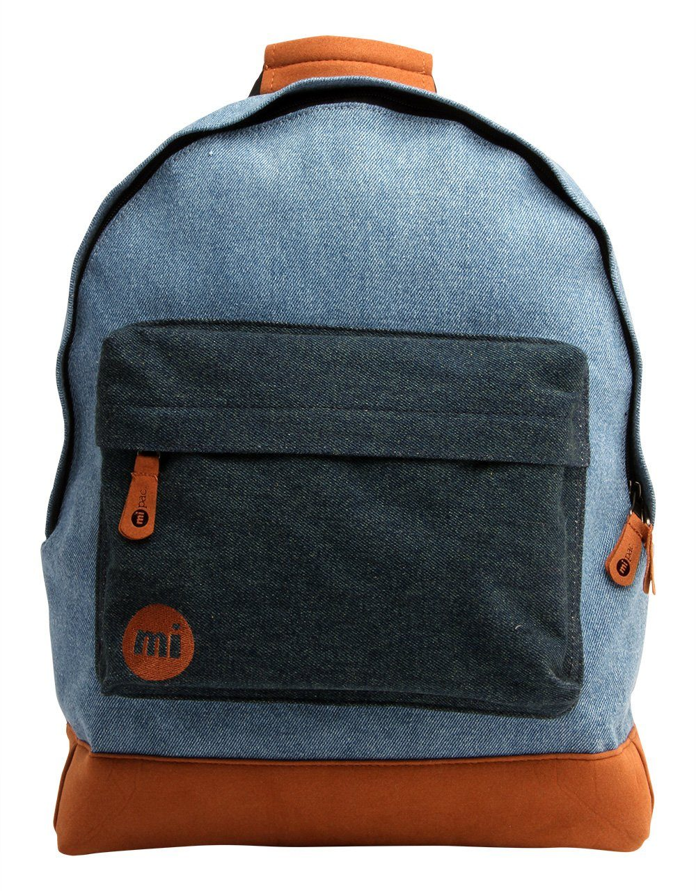 mi pac. Rucksack mit Laptopfach, »Backpack, Denim Patch«