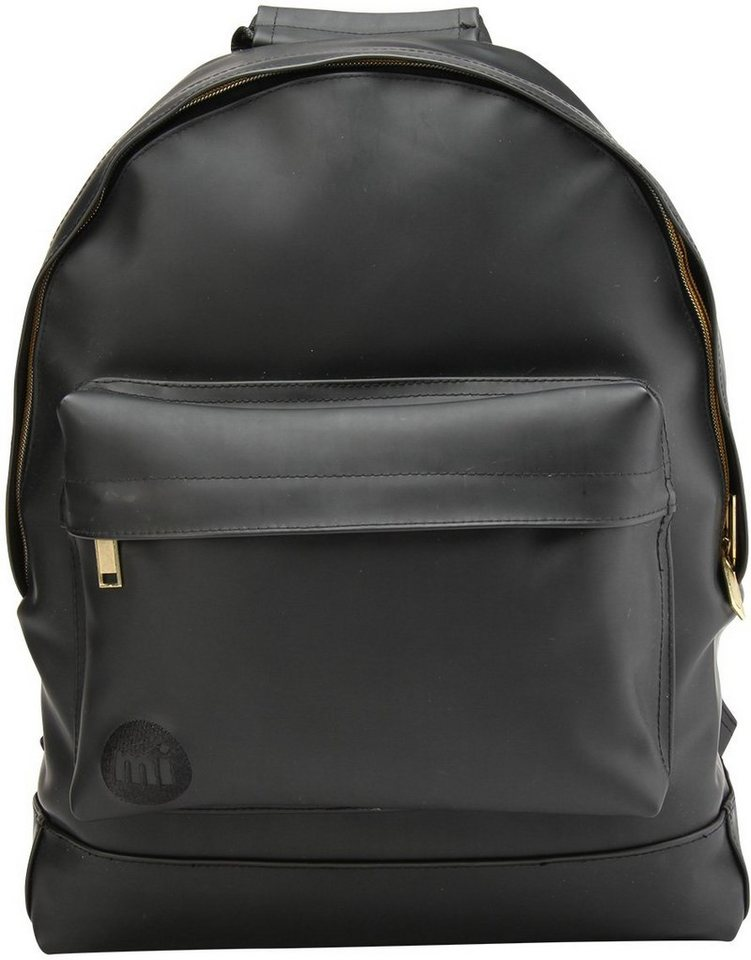 mi pac rucksack mit laptopfach backpack rubber online. Black Bedroom Furniture Sets. Home Design Ideas