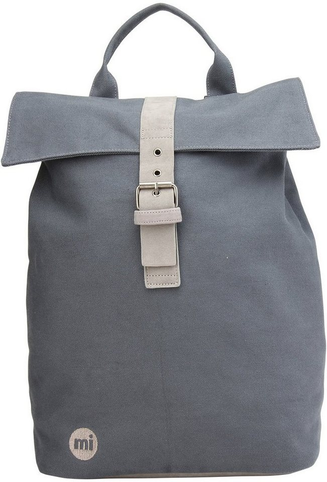mi pac. Rucksack, »Daypack, Canvas Charcoal« in Charcoal Grey