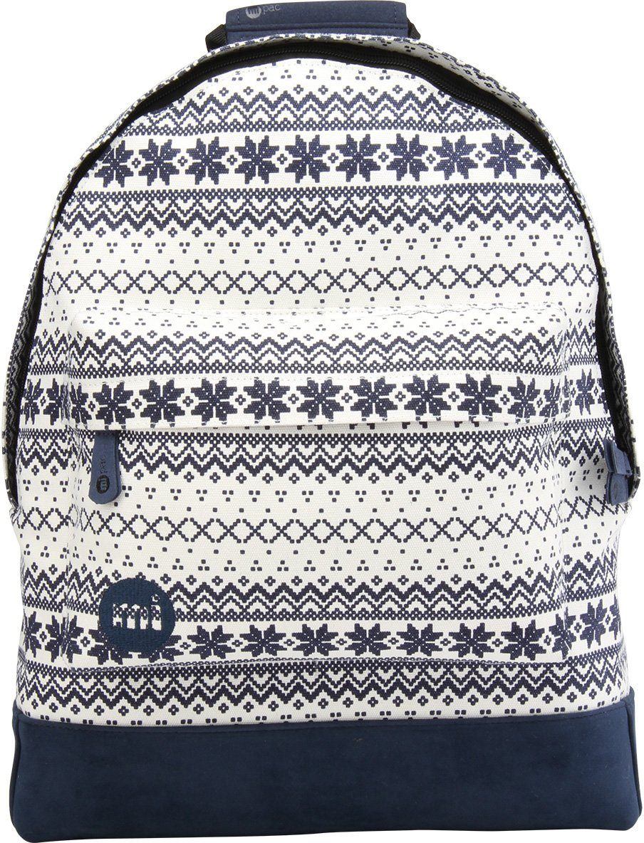 mi pac. Rucksack mit Laptopfach, »Backpack, Fairisle«