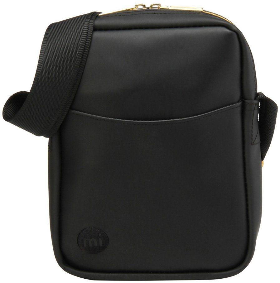 mi pac. Flugumhängetasche mit Innenraumteiler, »Flight Bag, Rubber Black« in schwarz