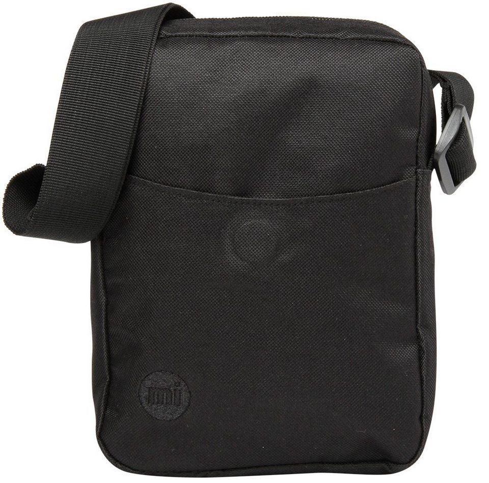 mi pac. Flugumhängetasche mit Innenraumteiler, »Flight Bag, Classic All Black« in schwarz