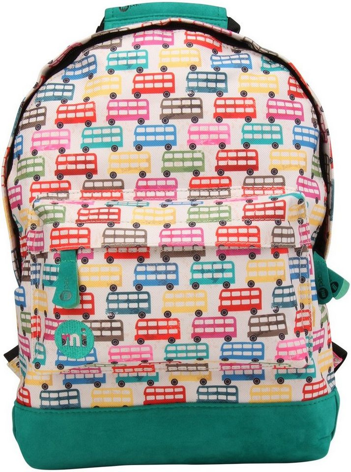 mi pac. Rucksack mit Laptopfach, »Backpack MINI, Buses«