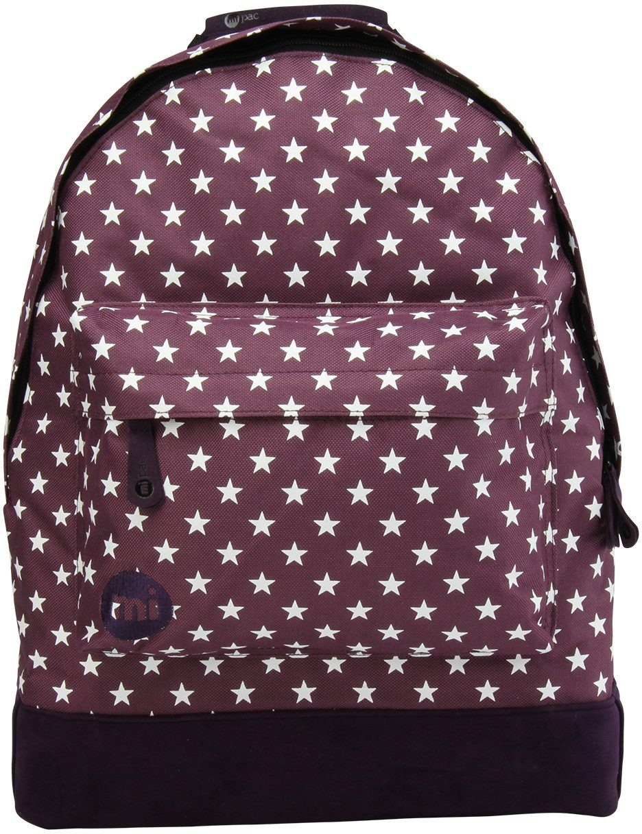 mi pac. Rucksack mit Laptopfach, »Backpack, All Stars Plum Navy«