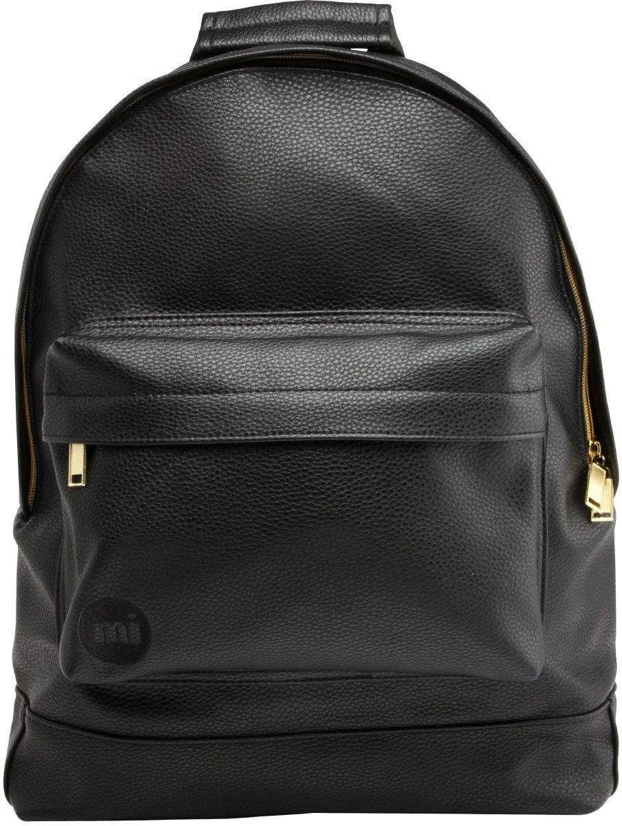 mi pac. Rucksack mit Laptopfach , »Backpack, Tumbled Black«