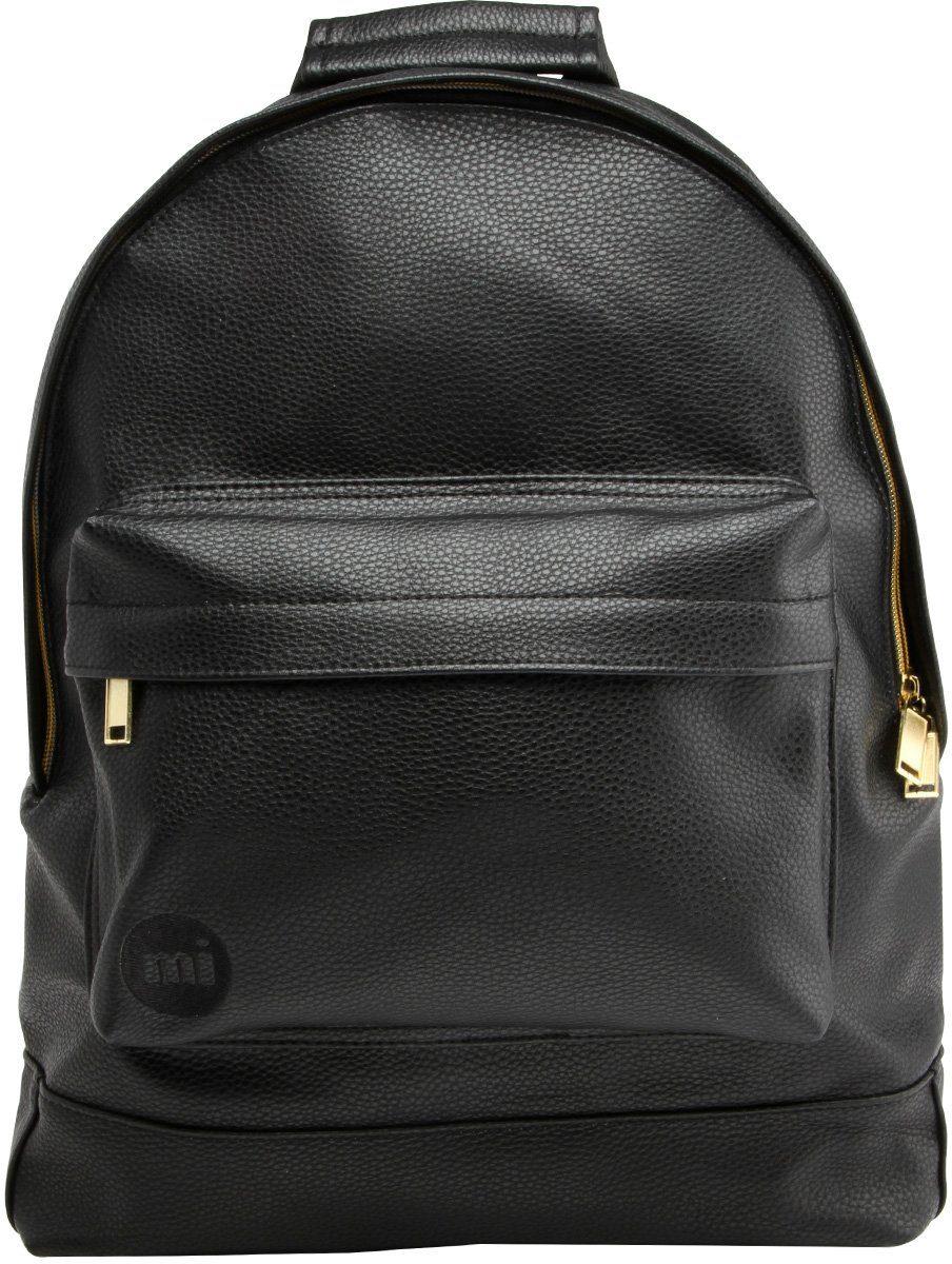 mi pac. Rucksack mit Laptopfach , »Backpack, Tumbled Black«