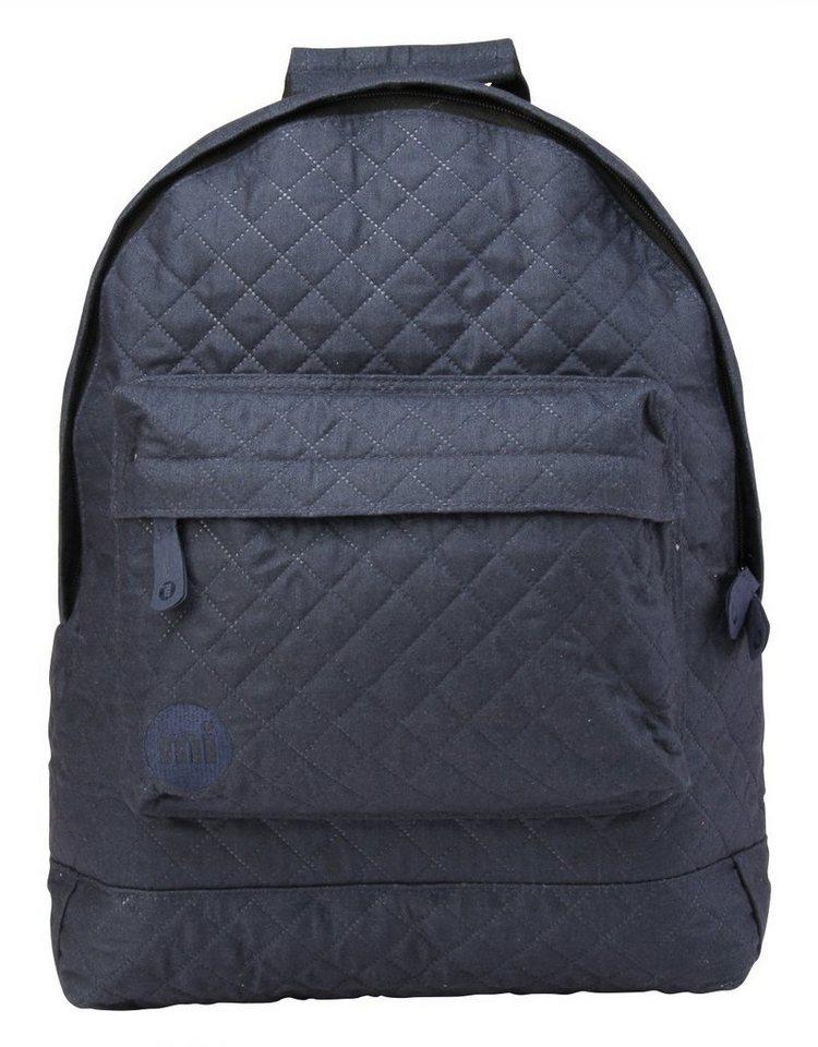 mi pac. Rucksack mit Laptopfach, »Backpack, Quilted Navy« in Navy