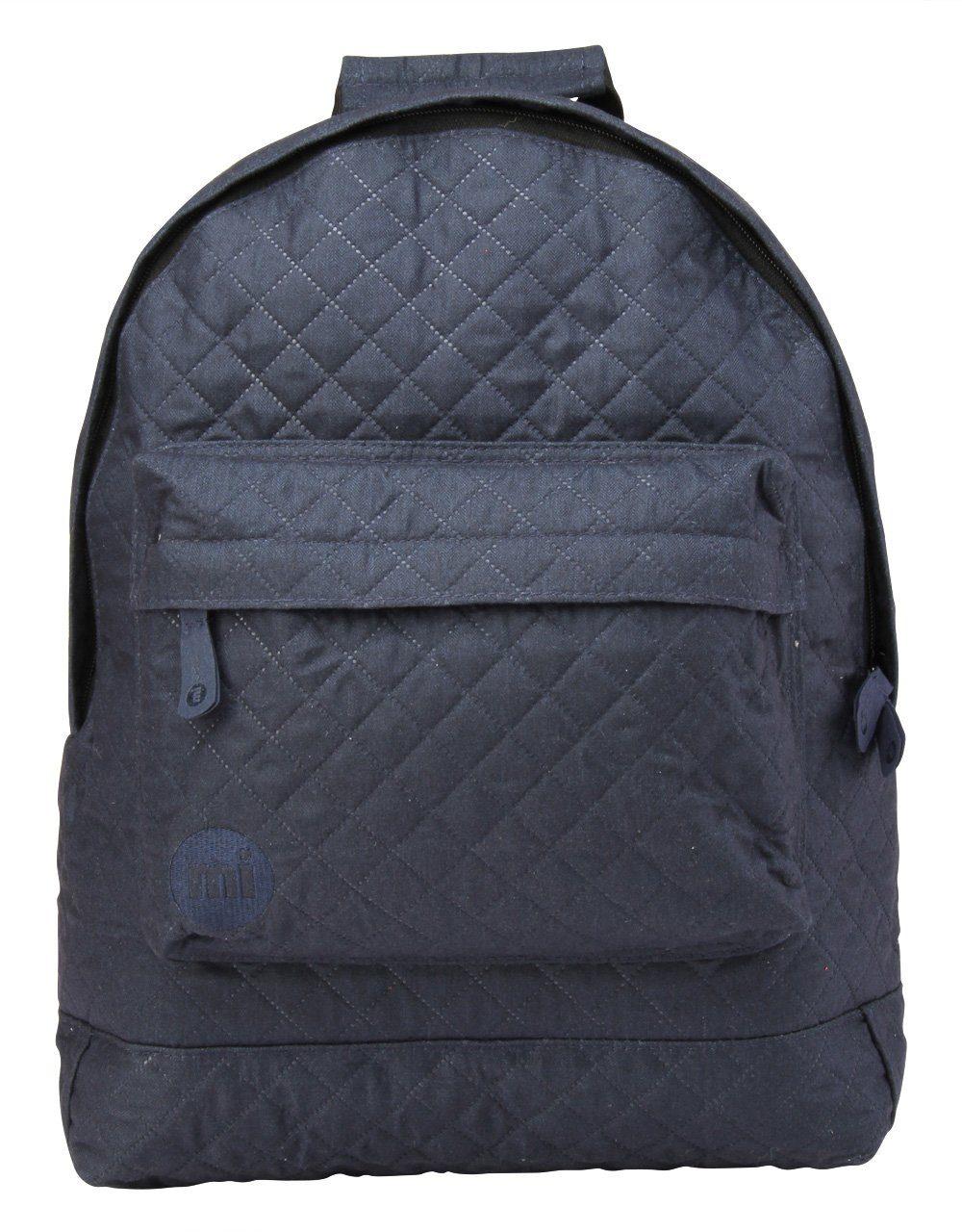 mi pac. Rucksack mit Laptopfach, »Backpack, Quilted Navy«