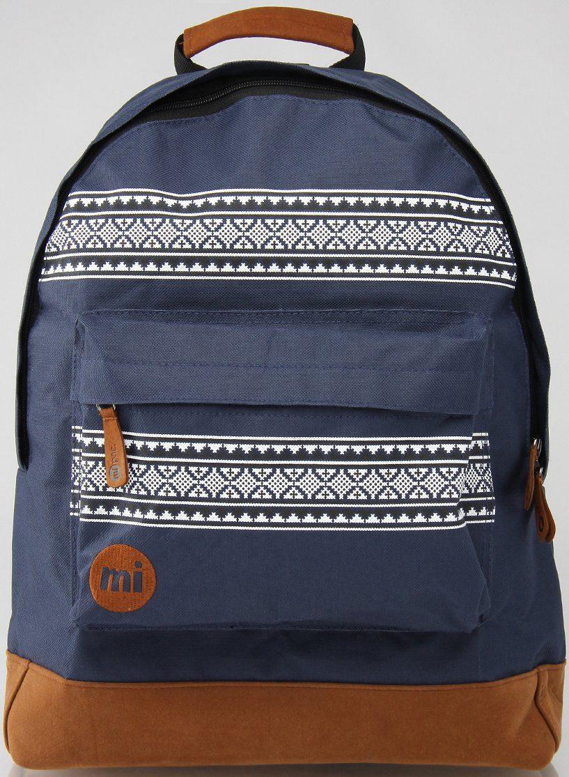 mi pac. Rucksack mit Laptopfach, »Backpack, Nordic Navy«