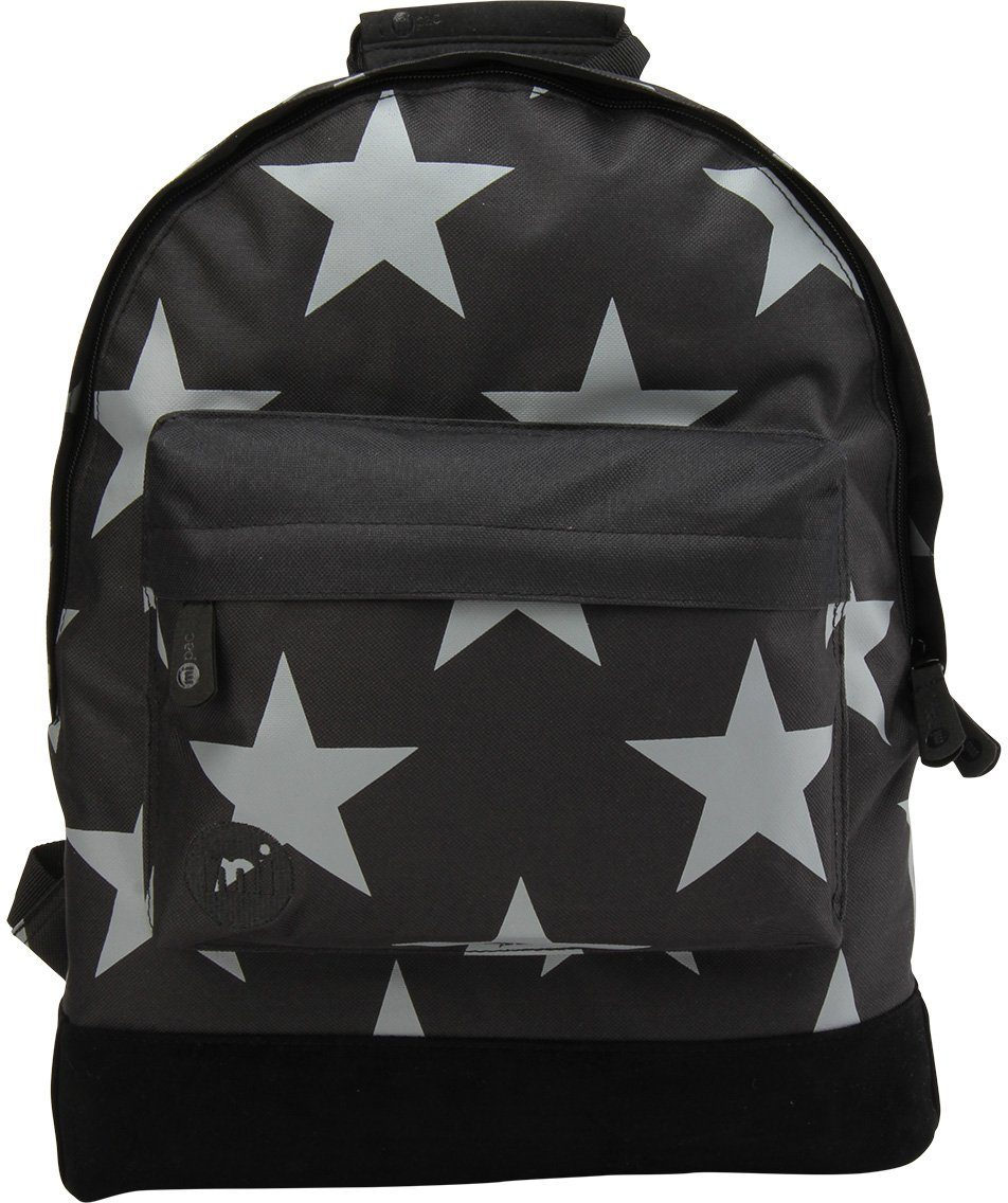 mi pac. Rucksack mit Laptopfach, »Backpack, Stars XL Black Grey«