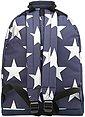 mi pac. Rucksack mit Laptopfach, »Backpack, Stars XL Navy Silver«, Bild 2