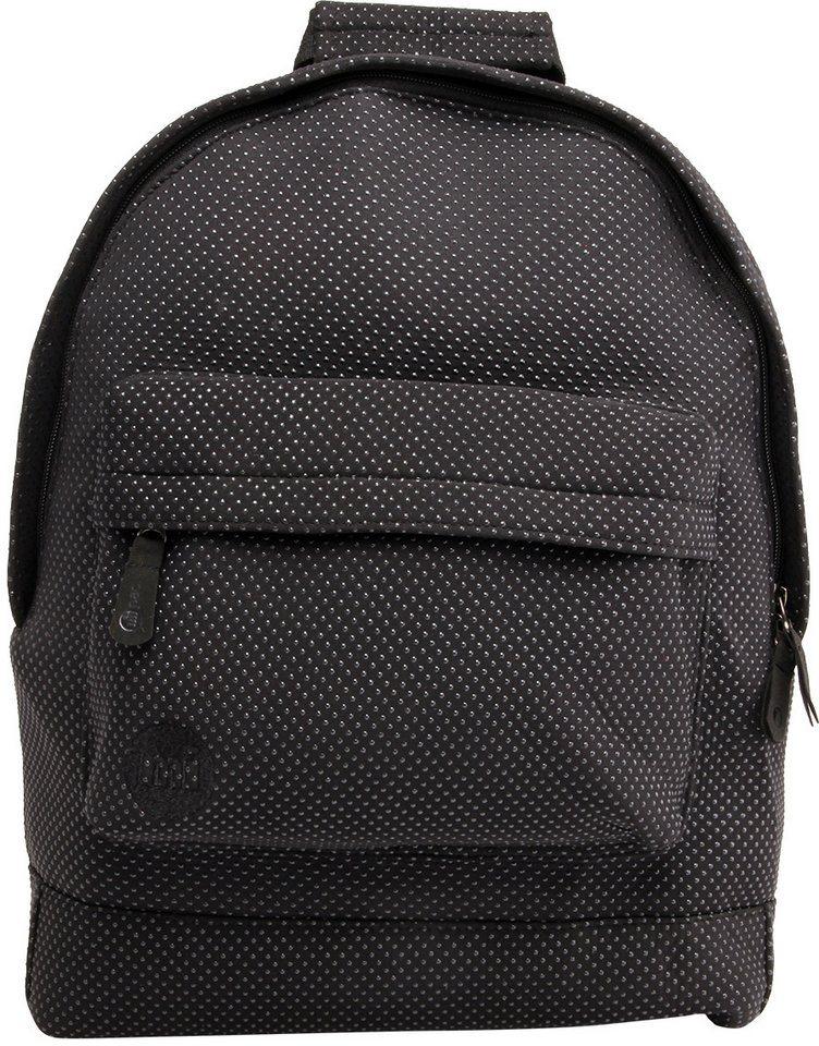 mi pac. Rucksack mit Laptopfach, »Backpack, Neoprene Dot« in schwarz