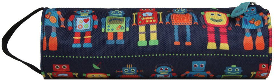 mi pac. Mäppchen, »Pencil Case, Robots«