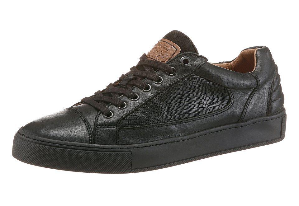 Australian »Gibson« Schnürschuh Lederinnensohle herausnehmbar in schwarz