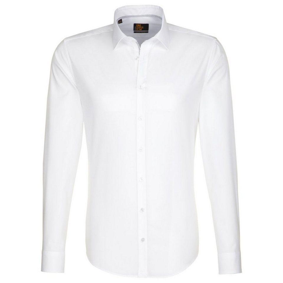 SEIDENSTICKER Businesshemd »Slim« in weiß