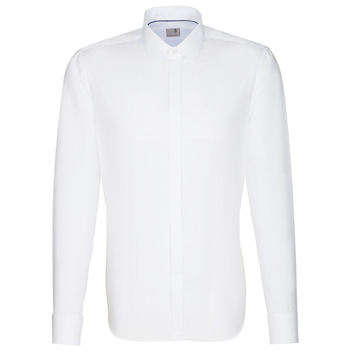 Herren seidensticker Businesshemd Tailored weiß | 04048869179525