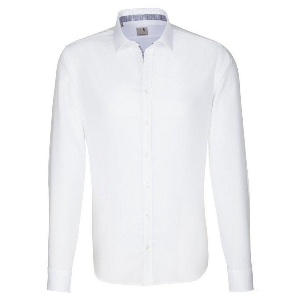 SEIDENSTICKER Businesshemd »Tailored« in weiß