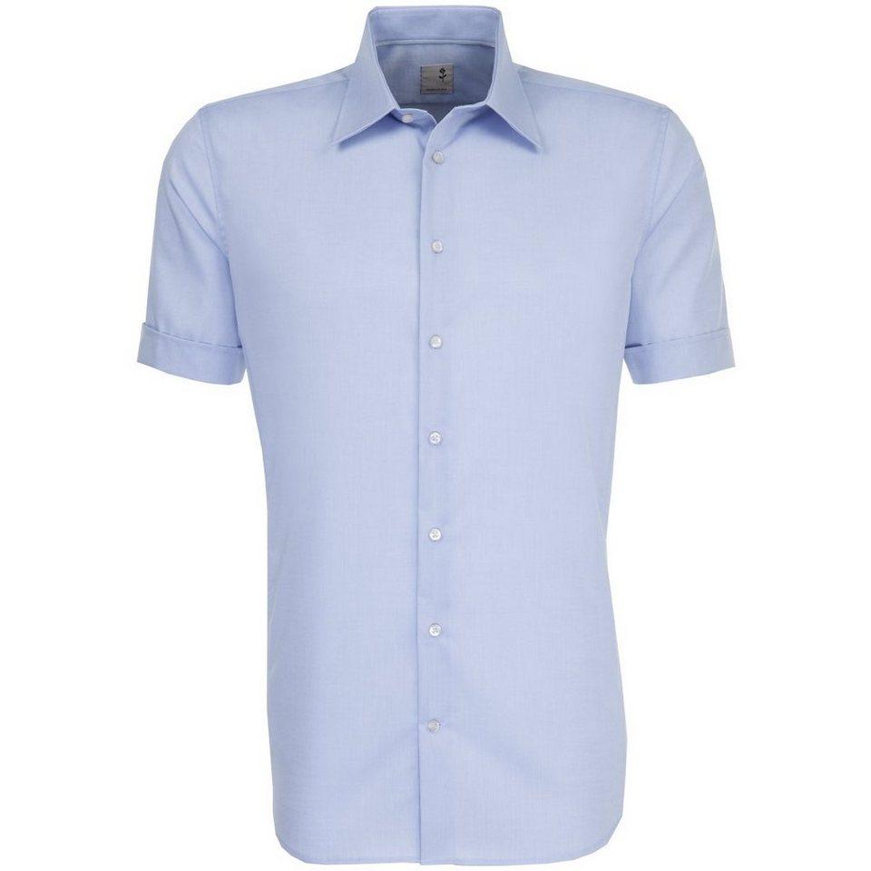 SEIDENSTICKER Businesshemd »Tailored« in hellblau-blau