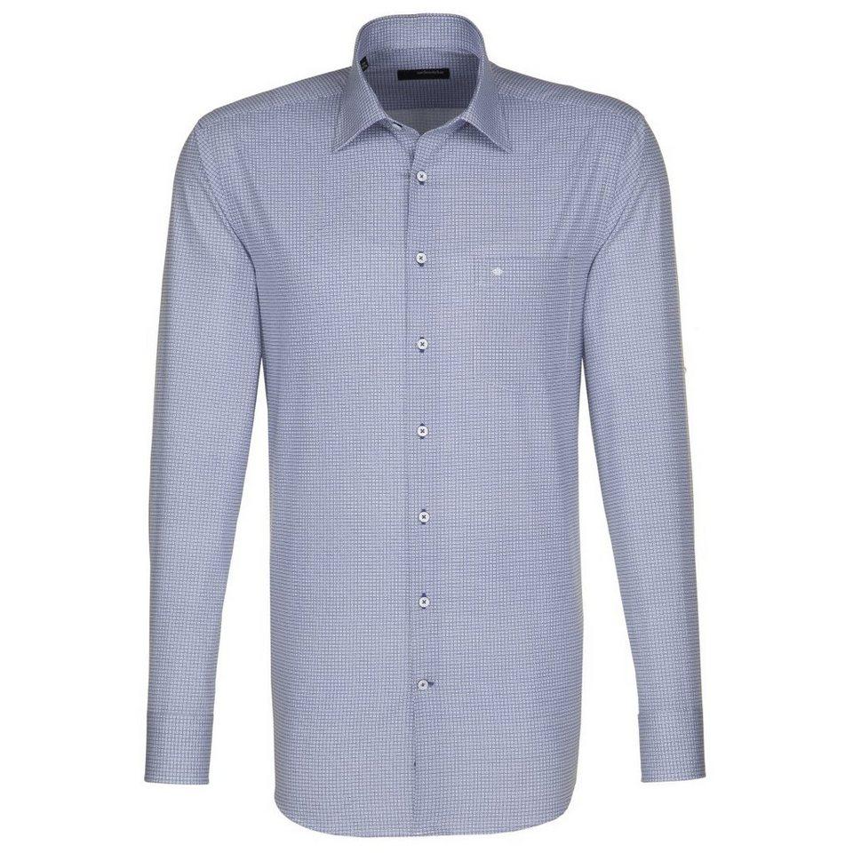 Seidensticker Businesshemd »Splendesto« in dunkelblau