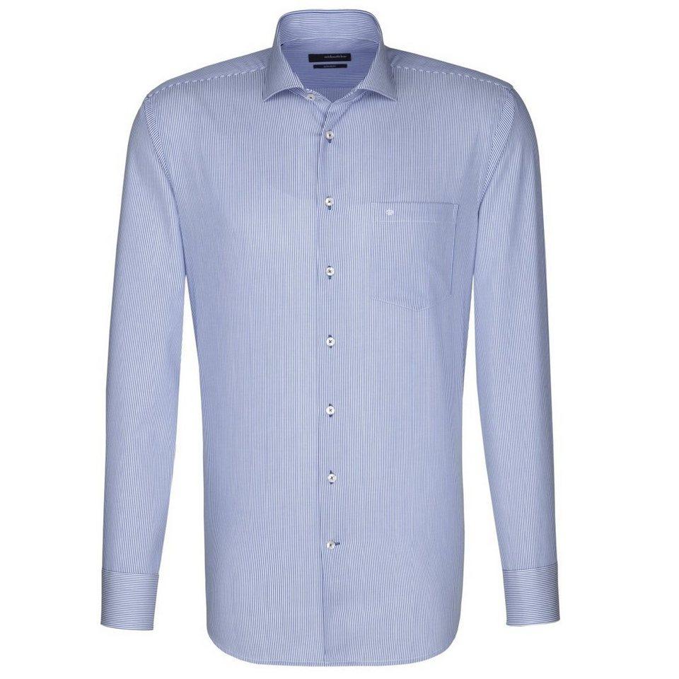 Seidensticker Businesshemd »Splendesto« in blau