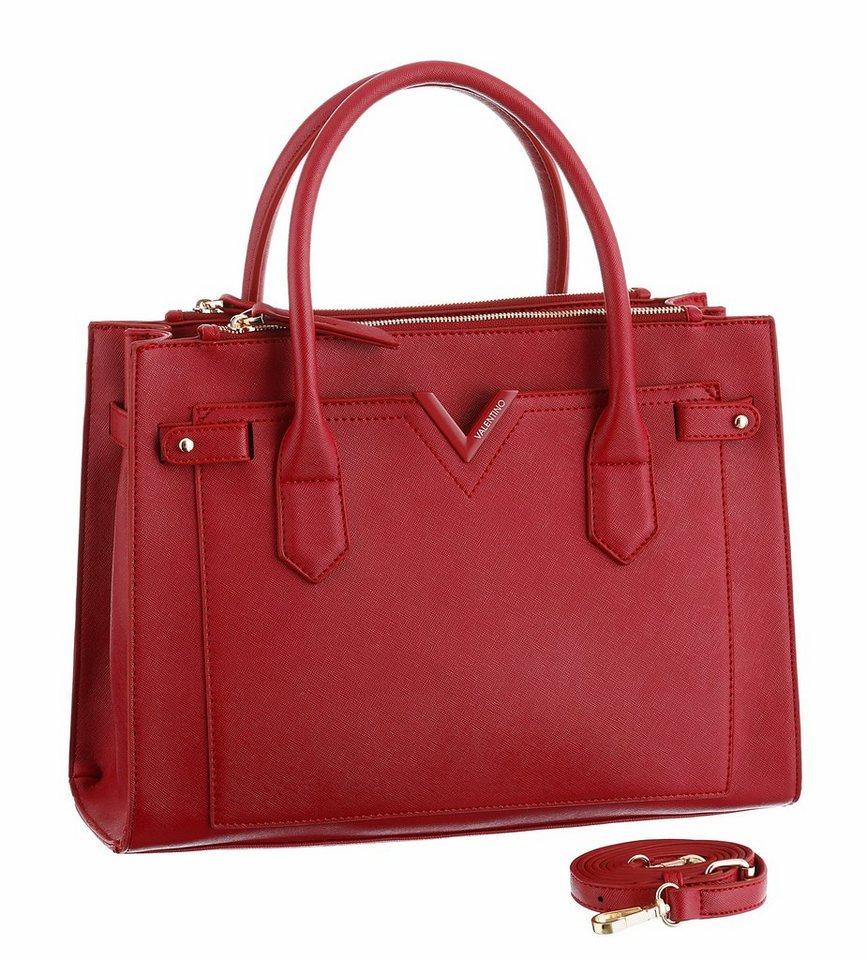 Valentino handbags Henkeltasche in rot