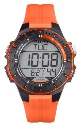 CALYPSO WATCHES Chronograph »K5607/1« in orange