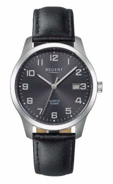 Regent Titanuhr »11190162-F932« in schwarz