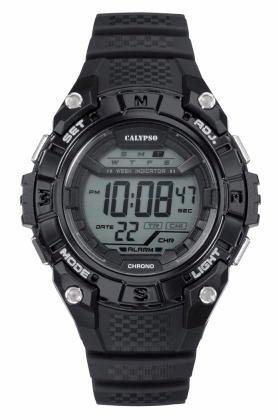 CALYPSO WATCHES Chronograph »K5683/6« in schwarz