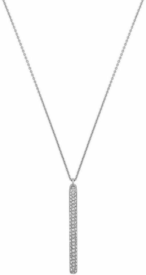 Lolaandgrace Kette mit Anhänger »VEGAS PENDANT, 5216965« mit Swarovski® Kristallen in silberfarben