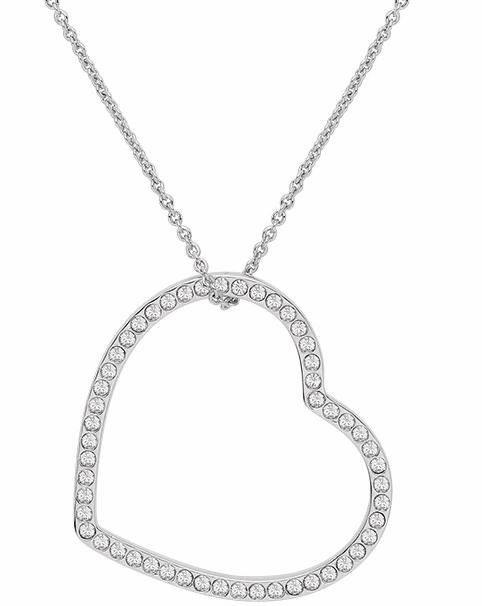 Lolaandgrace Kette mit Anhänger »VENICE PENDANT, 5217070« mit Swarovski® Kristallen