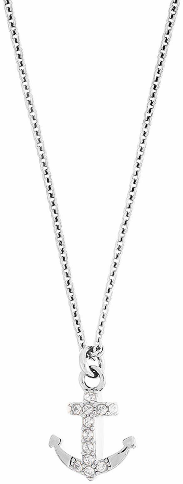 Lolaandgrace Kette mit Anhänger »SYMBOL: PENDANT ANCHOR, 5099648« mit Swarovski® Kristallen