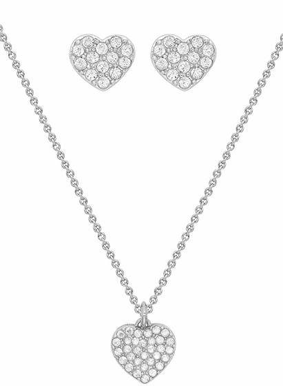 Lolaandgrace Schmuckset »PARIS SET, 5251893«, mit Swarovski® Kristallen